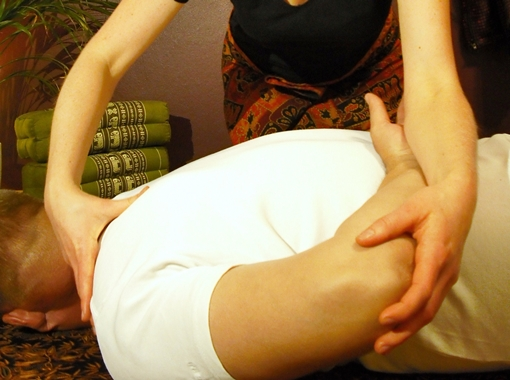 Traditionelle Thai-Yoga-Massage - Hotel Döllnsee-Schorfheide, Brandenburg/Berlin, Wellnesshotel, Tagungshotel